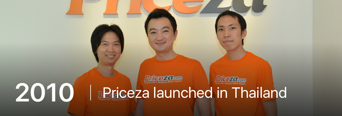 Priceza launched in Thailand