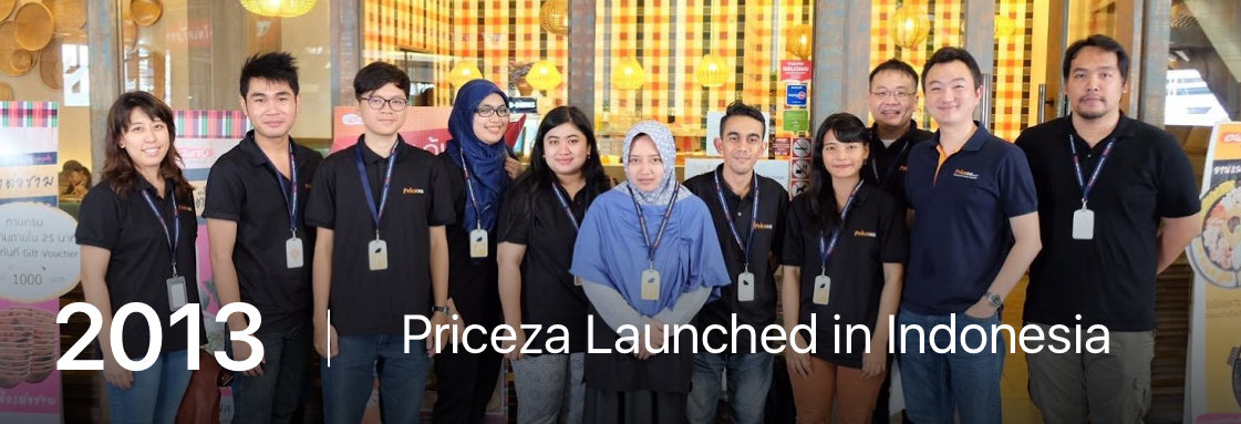 Priceza Launched in Indonesia