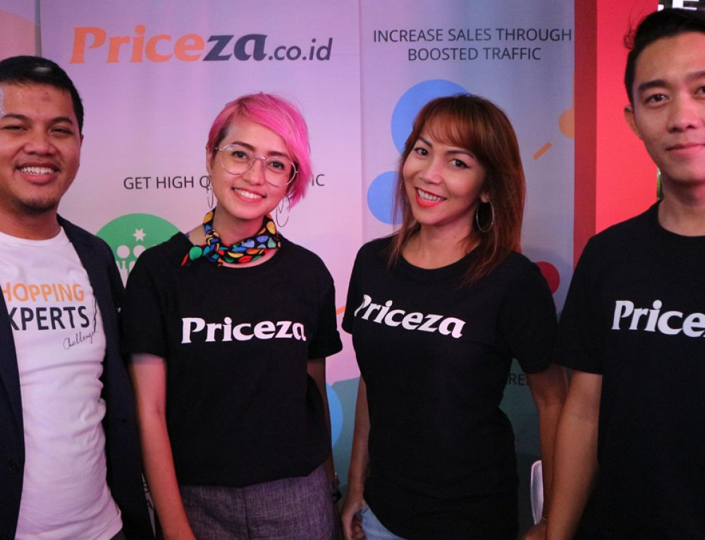 Priceza Indonesia Attends Lapak Loka Startup Exhibition 2017 in Jakarta